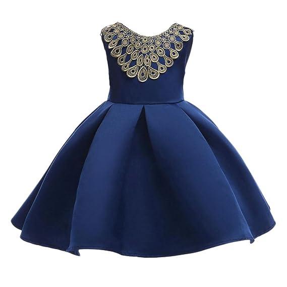 K-youth® Vestido Flor Brillante Ceremonia Princesa Vestidos de fiesta Para Bodas Vestido Elegante