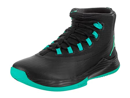 3605caf7142a3e Nike Jordan Men s Jordan Ultra Fly 2 Black Clear Jade Black Basketball Shoe  10 Men