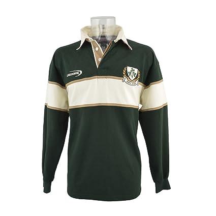 Lansdowne Camiseta de Manga Larga de Rugby de Irlanda Color Verde ...