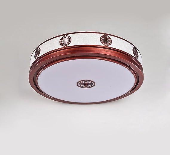 Sursy Nuevo estilo chino lámpara de techo led, salón ...