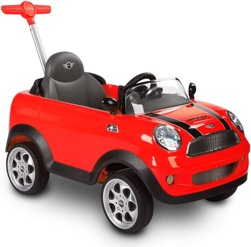 Rollplay Mini Cooper Push Car, Rojo, Color (42513)