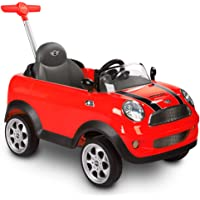 Rollplay Mini Cooper Push Car, Rojo, Color (42513)