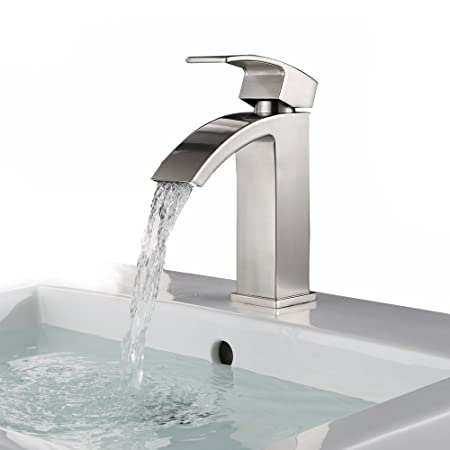 Oofay Taps Single Spout Mono Square Stainless Steel Mixer Basin