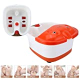 Shag Egab Foot Bath Spa with Heat Vibration Leg Massager