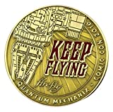 Firefly Keep Flying Limited Edition Challenge Coin by Quantum Mechanix