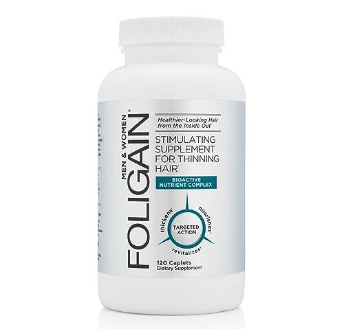 6. Foligain – Il migliore per arrestare la caduta dei capelli