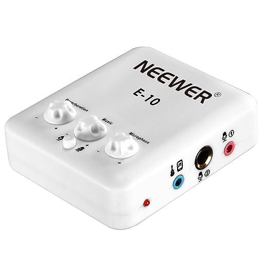 10 opinioni per Neewer Scheda Audio a USB Esterna con Design senza Driver per Canto,