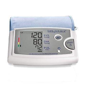LifeSource Tensiómetro con AccuFit Extragrande Pulsera: Amazon.es: Salud y cuidado personal