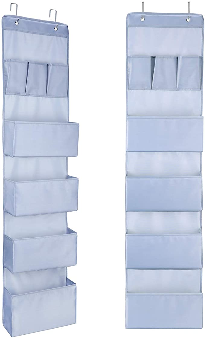 Over The Door Hanging Wall Organiser with 7 Pockets