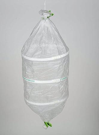 PAMPOLS Pack de 5 Bolsas ecológicas Protectoras para Uvas de Tela de 30x42cm