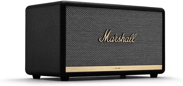 Marshall Stanmore II - Alta Voz Bluetooth, Color Negro, EU: Amazon ...