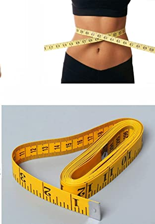 """120/"""" Body Measuring Ruler Sewing Cloth Tailor Tape Measure Seamstress Soft Flat"""