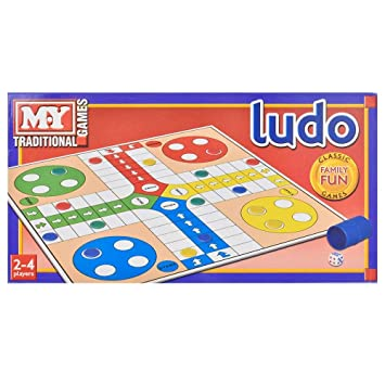 4fc100505 Ludo Traditional Board Game x 1: Amazon.co.uk: Toys & Games
