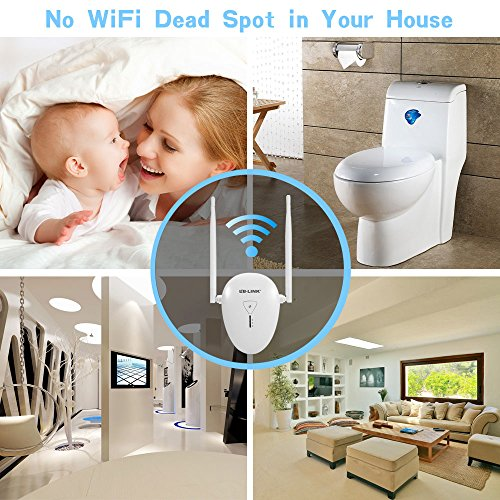 BL-Link 300Mbps 2.4GHz Wi-Fi Range Extender, WiFi Repeater Signal Amplifier Booster Supports Repeater/Access Point/Router Mode with Network by Uarzt (Image #6)