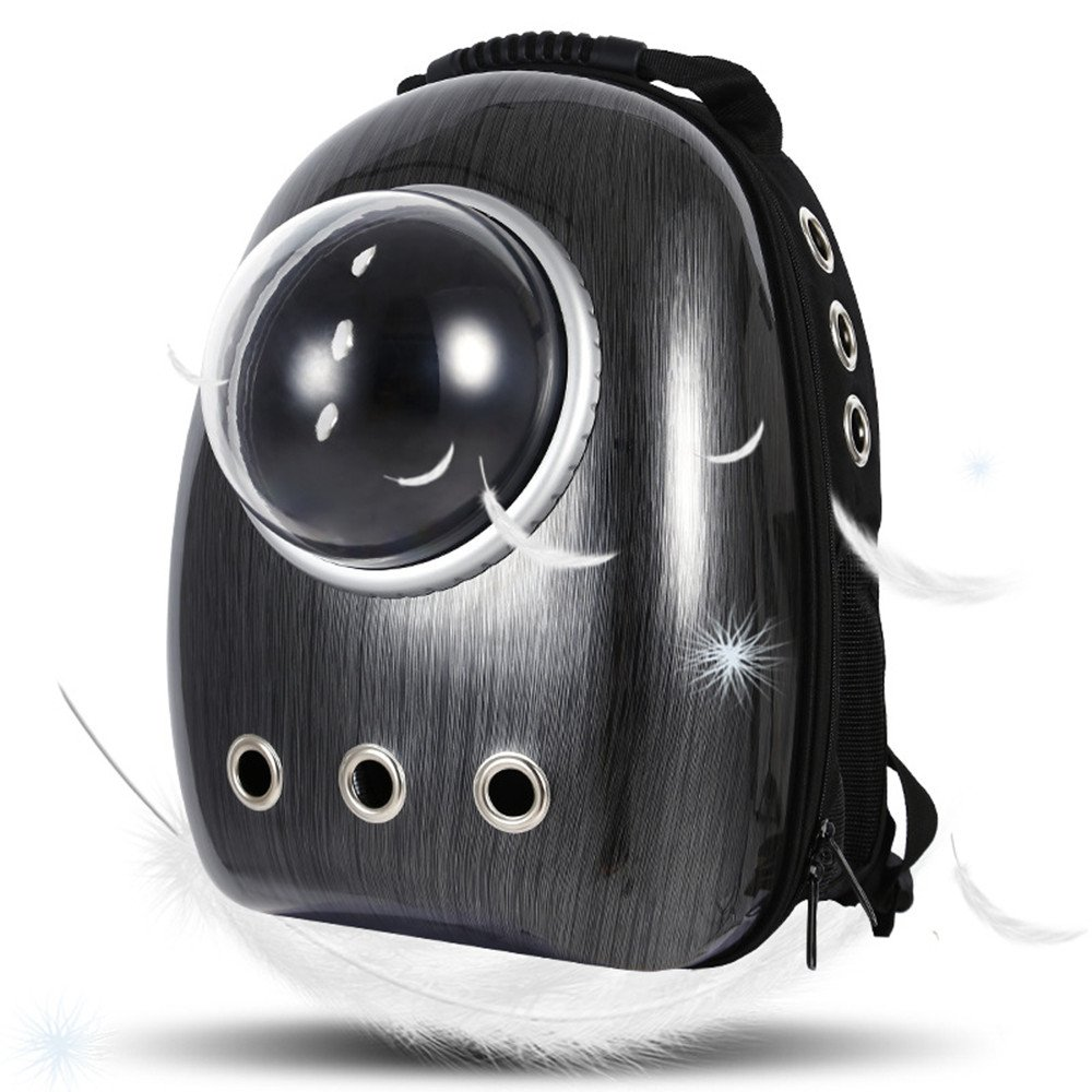 LEMONDA Portable Pet Travel Carrier,Space Capsule Pet Cat Bubble Backpack,Waterproof Traveler Knapsack for Cat and Small…