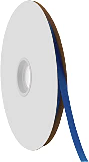 "product image for Offray Berwick 1/4"" Single Face Satin Ribbon, Royal Blue, 100 Yds"