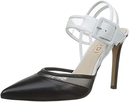 Lodi Verax-MUL, Zapatos con Tacon y Correa de Tobillo para Mujer