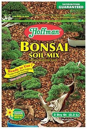 Amazon Com Hoffman 10708 Bonsai Soil Mix 2 Quarts Brown A Soil And Soil Amendments Garden Outdoor