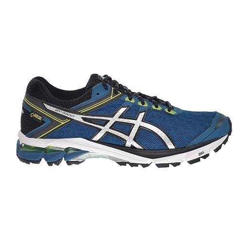 pretty nice 02b7f 674b9 ASICS GT-1000 4 G-TX Men s Shoes Mosaic Blue Silver Lime