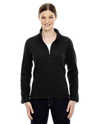 save off 28632 712ec Amazon.com  North End Ladies Voyage Fleece Jacket  Clothing