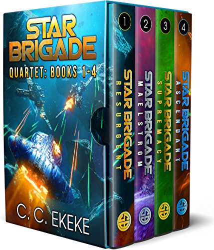 Star Brigade: Quartet (Star Brigade Books 1-4) cover