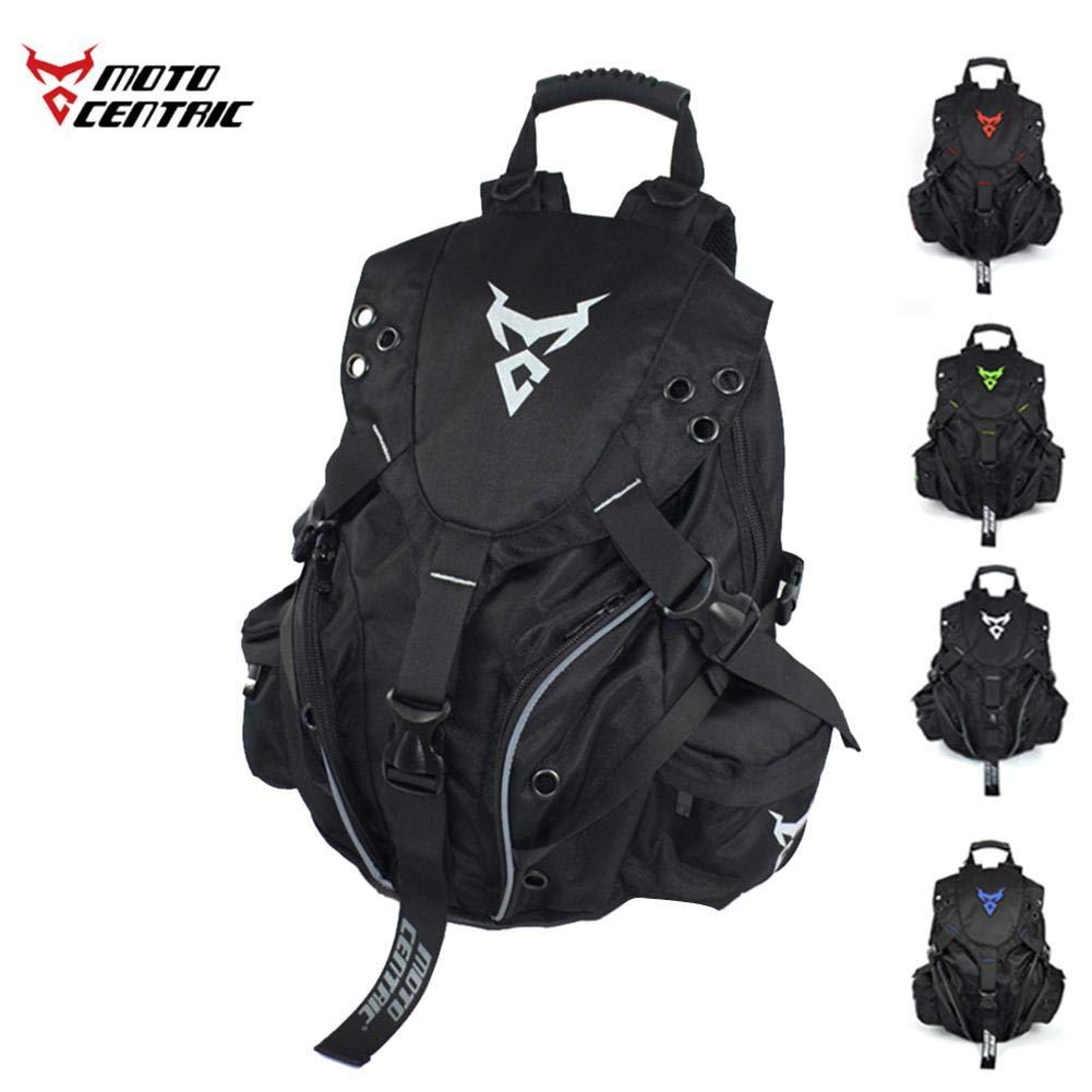 Laideyilan MOTOCENTRIC Motorbike Backpack Outdoor Sports Riding Package Motorcycle Helmet Backpack Motorcycle Cycling Computer Backpack Kit Bag MC-0099