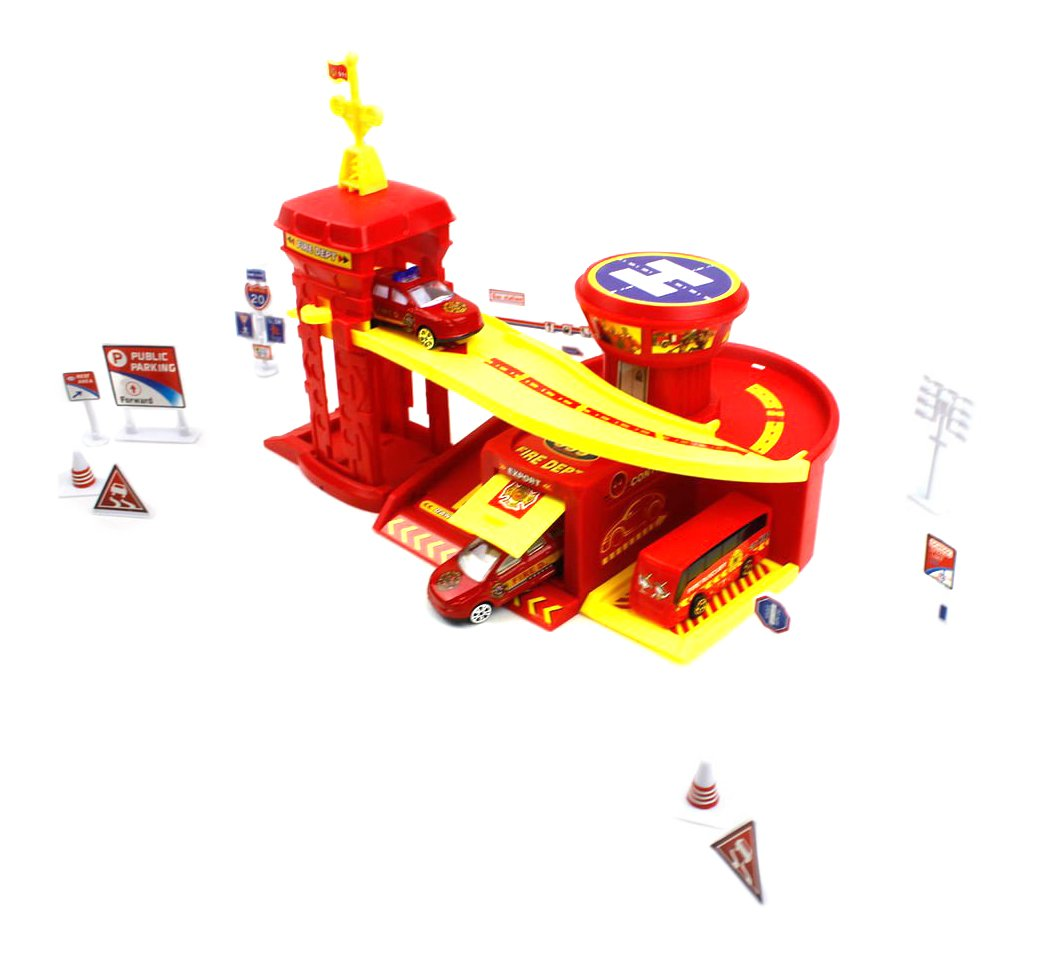 Little Treasures Toy Fire Education Center Play Toy