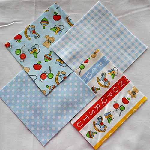 Abc Toys 4  Fabric Squares Charm Pack 100  Cotton  40 Pieces