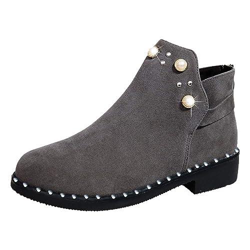 Beladla Botas De Mujer Zapatos De Mujer Botines Navidad Boot De Gamuza Zapatos De OtoñO E Invierno Botines Botas De Zapatos: Amazon.es: Zapatos y ...