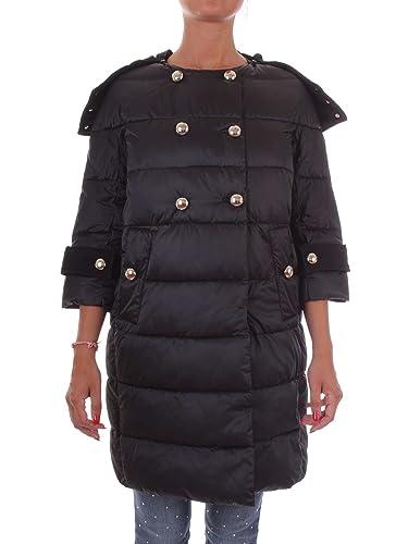 Pinko 1G12M6-Y3KX Abrigo Mujer Negro 42