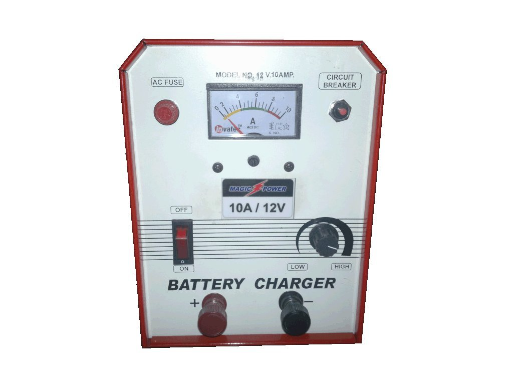 Magic Power Bc A6 10a Battery Charger Red Electronics 12 Volt 24 Lead Acid Circuit Homemade