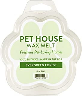 product image for One Fur All 100% Natural Soy Wax Melts in 20+ Fragrances, Pack of 2 by Pet House - Long Lasting Pet Odor Eliminating Wax Melts, Non-Toxic Pet Wax Melts, Made in USA (Evergreen Forest)