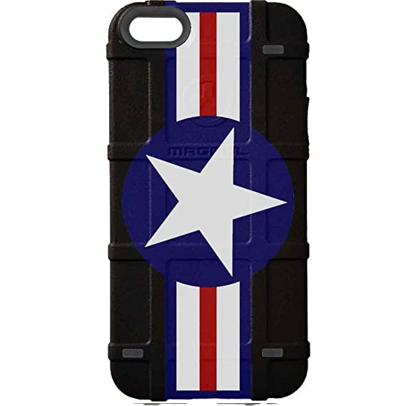 check out dd51e c3484 EGO Tactical Limited Edition Design UV-Printed onto a MAG454 Bump Case  Compatible with Apple iPhone 5, 5s & SE Air Force 1