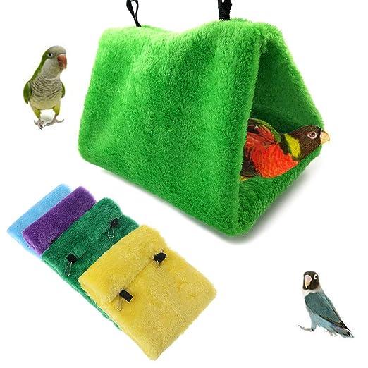 Wondful - Hamaca para mascotas con diseño de pájaros colgando en ...