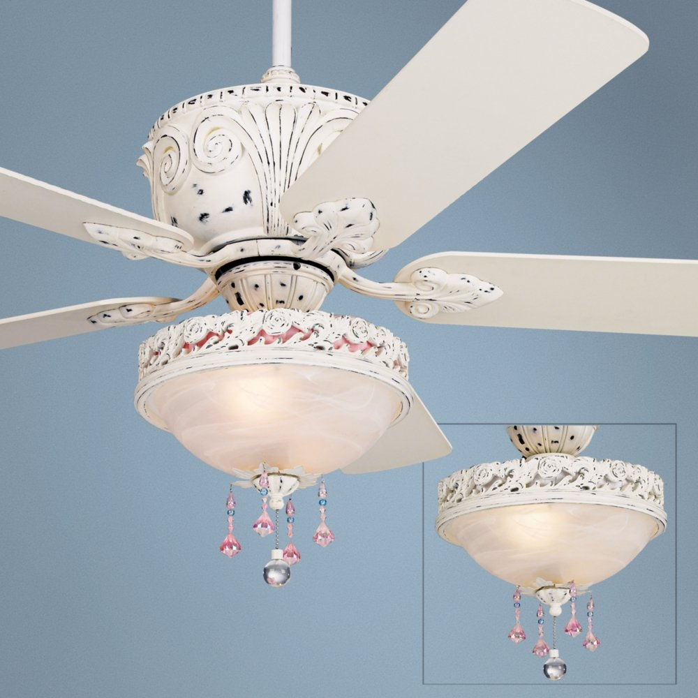 Casa deville antique white light kit ceiling fan amazon arubaitofo Choice Image