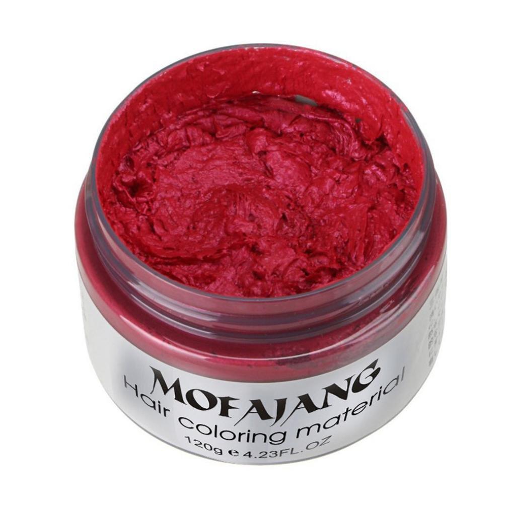 Bescita DIY capelli crema colorante per capelli cera di argilla fango nonna cenere tintura temporaneo 7colori