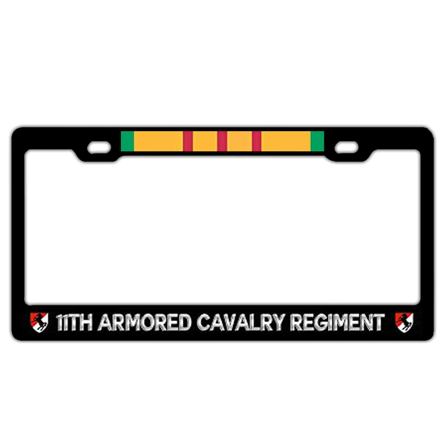 Black License Plate Covers Cute Car Tag Frame with Screws Universal License Plate Frame for Women//Men