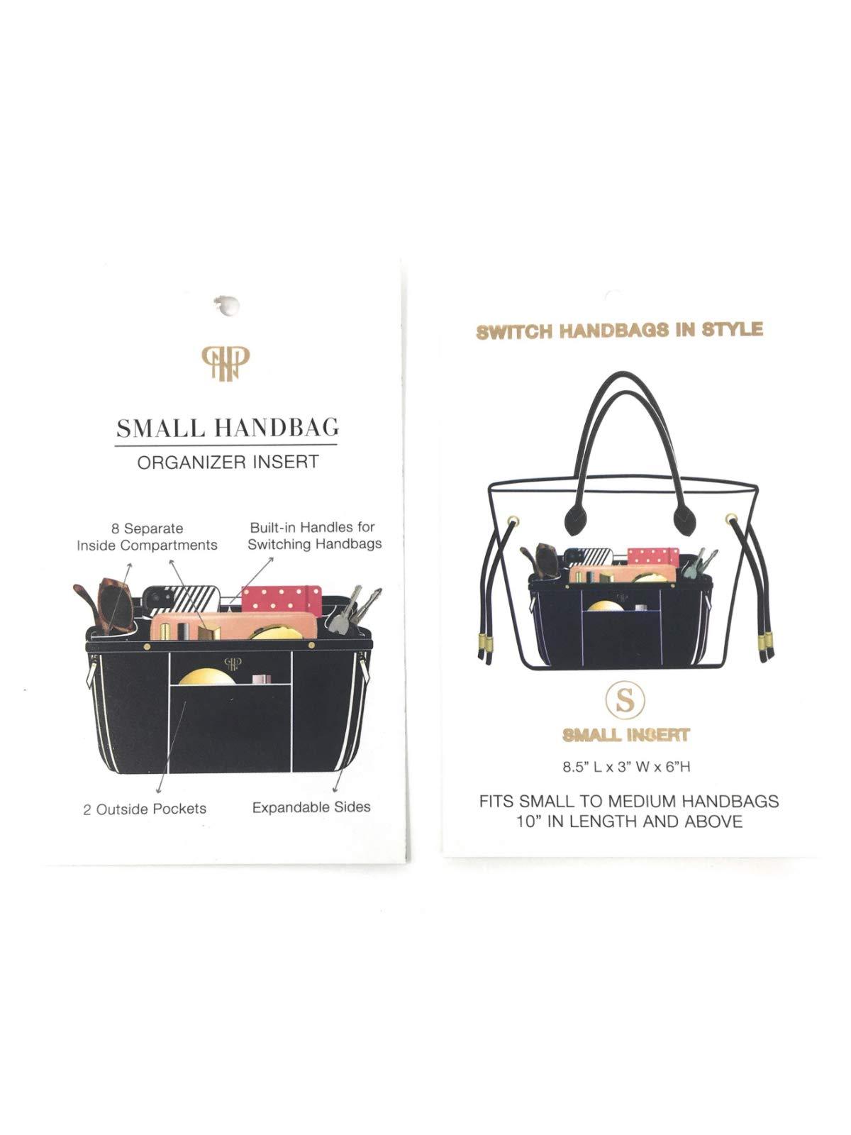 PurseN Handbag Organizer Insert (Small, Blanc Noir) by PurseN (Image #6)