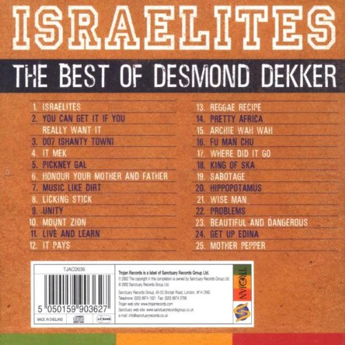 Israelites: Best of 1963-1971 by wah wah