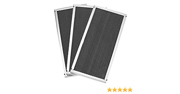 Venmar//Broan Charcoal Replacement Filters set of 3 Part # 03315
