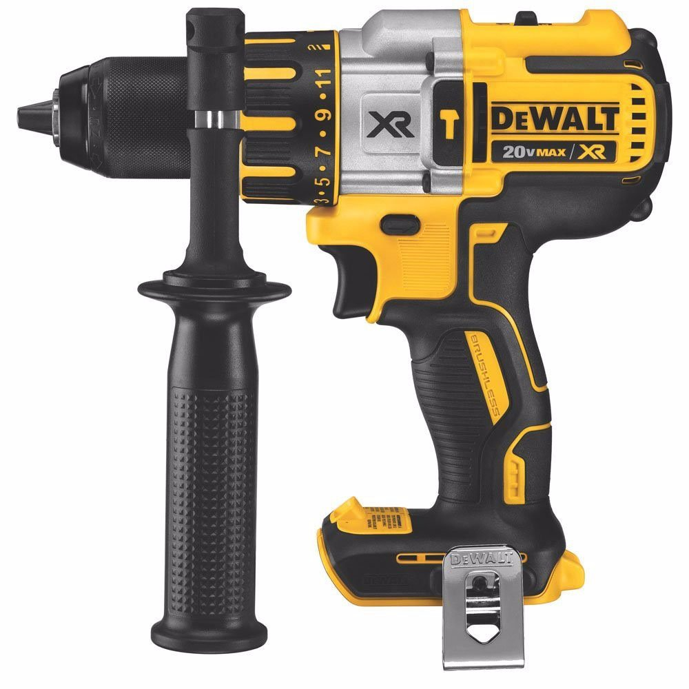 Dewalt DCD995BR 20V MAX XR Cordless Lithium-Ion 3-Speed 1 2 in. Brushless Hammer Drill Tool Only, No Battery or Charger Certified Refurbished