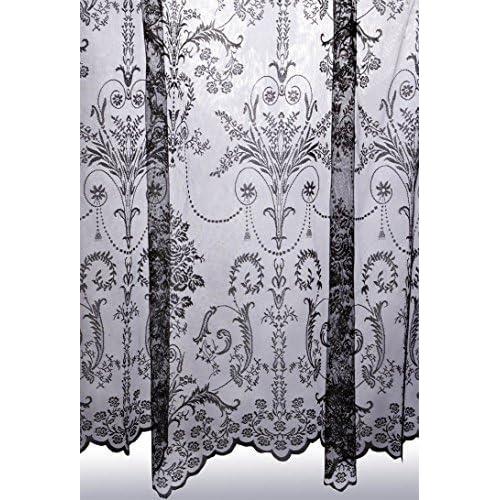 Lace Curtains Amazon: Lace Curtains For Windows: Amazon.co.uk