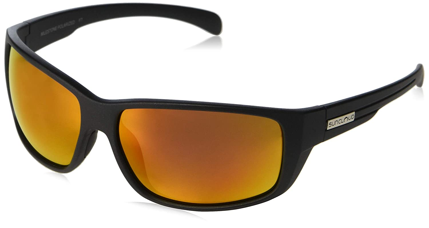 5025fb7a2e Amazon.com  Suncloud Optics Milestone Polarized Sunglasses (Mirror Green  Polarized