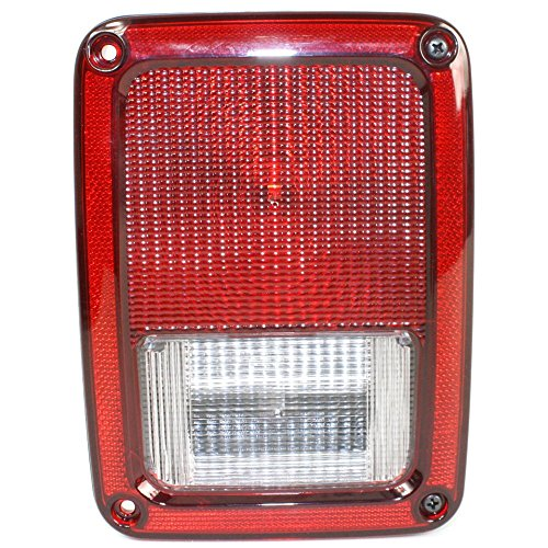 Tail Light for Jeep Wrangler (Jk) 07-16 Assembly Right Side (Light Tail Jeep Lens)