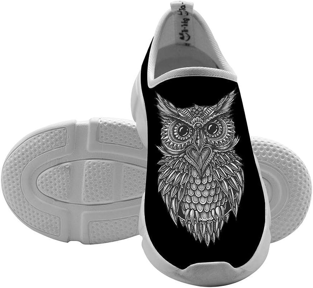 QsvMo Owl Children Shallow Leisure Shoe Cool Sneaker
