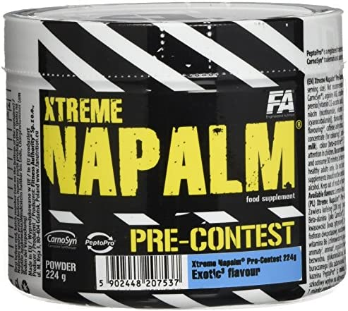FITNESS AUTHORITY FA Napalm Pre Contest Exotic, 224 g