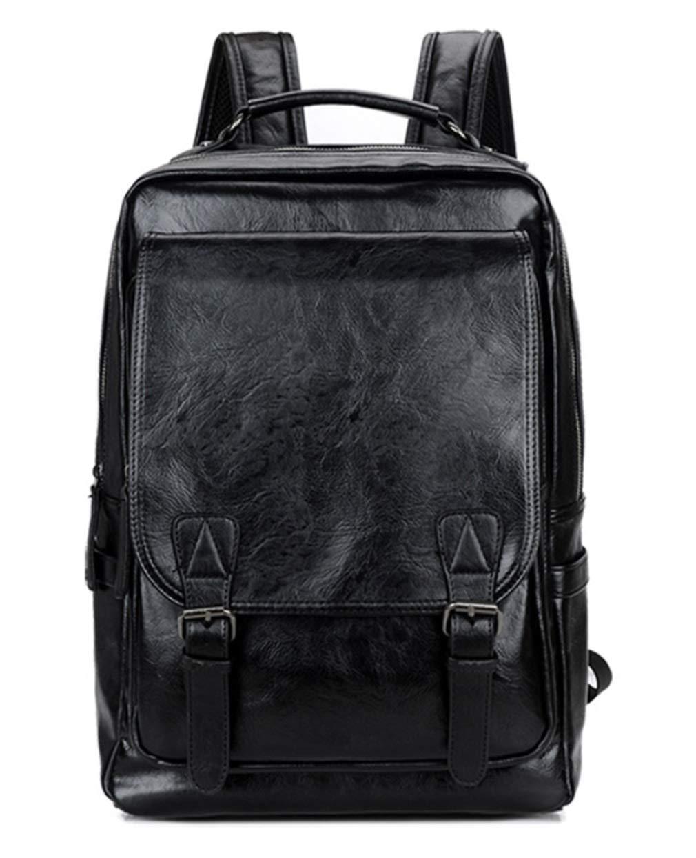 RSQJ Men Fashion Retro Locomotive Shoulders Leisure Bag Student Bag (Size : 291440cm)