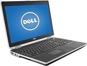 Dell Latitude E6530 Laptop, Intel Core I7 3520M Upto 3.6GHz, 8G DDR3, 512G SSD, DVD, WiFi, VGA, HDMI, 15.6 Inch Screen, Win 10 64 Bit-Multi-Language Suppport English/Spanish/French(CI7)(Renewed)