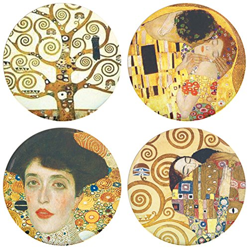Buttonsmith Gustav Klimt Magnet Featuring product image