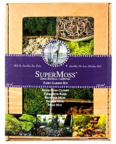 Supermoss (50310) Fairy Garden Kit, Mixed Mosses, 4oz. by Super Moss